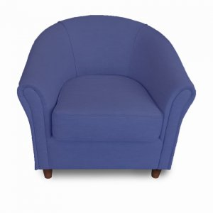 Naturally Timber 'Como' tub armchair - violet