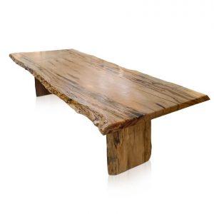 Naturally Timber 'Edo' single-slab dining table - Western Australian Marri