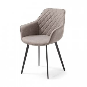 Lacy dining chair in Taupe