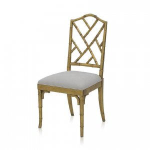 Chateaux dining chair in Antique Gold