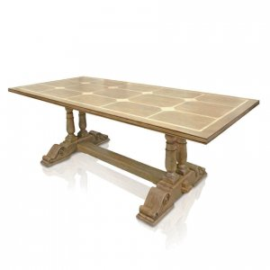 Windrush baluster dining table