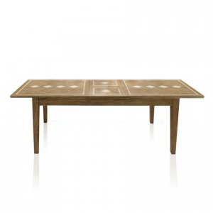Windrush double-extension table - single extended