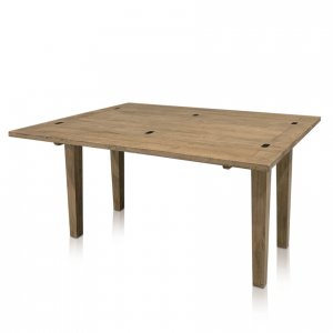 Windrush flip-top large extension table - open