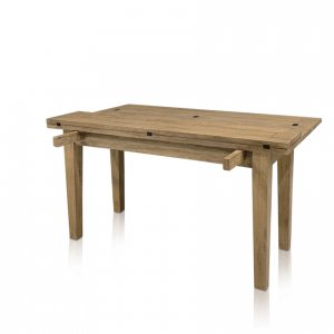 Windrush flip-top large extension table - transition 1