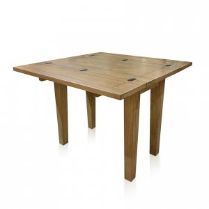 Windrush flip-top small table - open