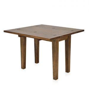 Mango Creek flip-top small extension table - open