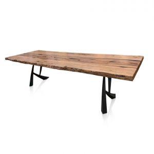 Augusta single-slab table in Western Australian Marri