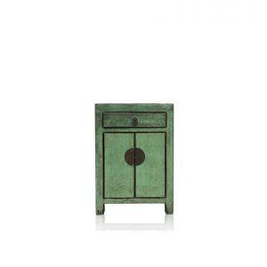 Oriental Dynasty bedside - green