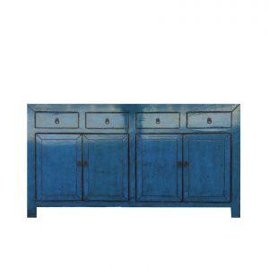Oriental Blossom buffet - blue