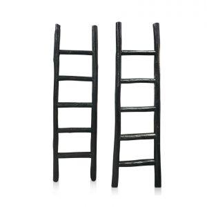Oriental Decorative Ladders - dark grey