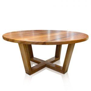 Atlanta round coffee table in Tasmanian Blackwood