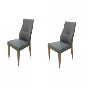 Vogue dining chairs - grey